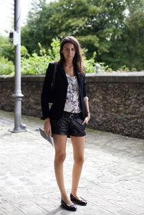 街拍胜大片 法国街头人人都是时尚高手