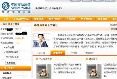 中国移动网上营业厅为什么不能登录