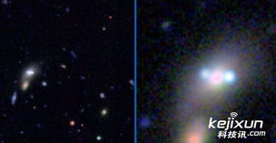 天文爱好者发现宇宙深处UFO 似外星人飞行器