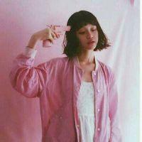 少女心粉色系头像