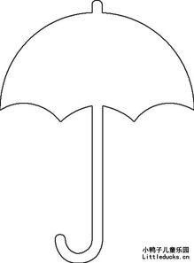 雨伞的简笔画大全共十张