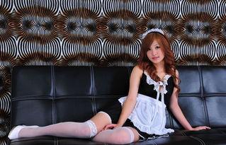 日本丰满少女胴体女仆装美女喷血诱惑人体艺术写真图片 制服诱惑 美...