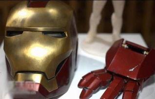 ...领略3D打印的钢铁侠面具风采