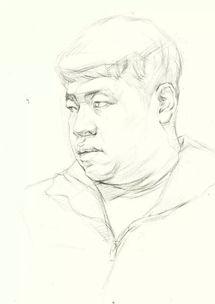素描学习 一步步教你怎么去画好人物头像素描