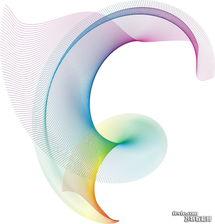 CDR绘制立体三维线条