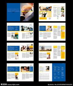 宣传册排版设计-画册版式设计图片