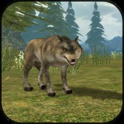 wolf狼-...D Wild Wolf Simulator 3D》是一款模拟游戏.游戏中玩家将扮演?...-...