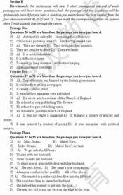 三级在线试看-恩波2006年12月英语四级考试预测卷三 查看