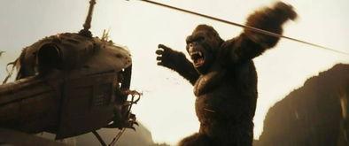 ...曾经轰动一时的电影《金刚》不同,这部电影中的金刚猩猩和纽约啊...