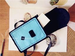 ...小黄人相机包 随身包 儿童小包 材料包 成品