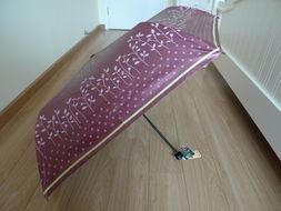 台湾彩虹屋正品黑胶 超轻防紫外线50 防晒遮太阳伞晴雨洋伞