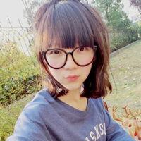 戴眼镜的女生头像 可爱气质
