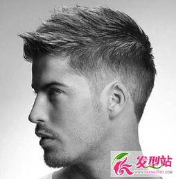 ...款时尚型男短发发型 男生发型抓发背头发型合集