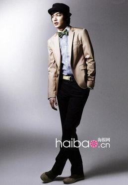 ...李民浩代言韩国男士服饰品牌Trugen2010春季广告