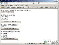 ASP.NET访问Oracle数据库 执行SQL语句过程