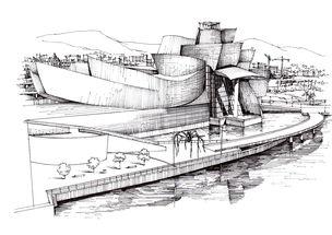 建筑大师作品 古根海姆博物馆