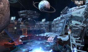 图3:决战太空   保卫战地图