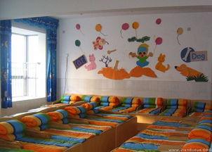 幼儿园睡眠室墙面布置图片大全 第3张