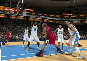 NBA 2K13 抢篮板心得分享