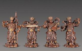 叫四天王天)的主神,通常分列在佛教寺院的第一重殿的两侧,天王殿...
