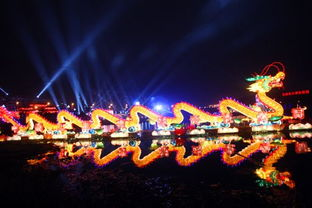 ...2012观山湖春节灯会庙市最长组灯