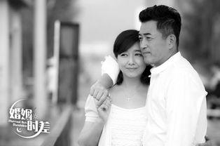 ...中与王志飞饰演夫妻.楠楠供图-江珊被曝已再婚 老公是默默无闻男...