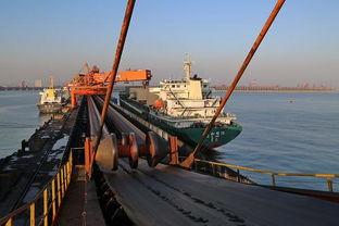 博雅乐山棋牌2.1.0803-这是两艘轮船靠泊在秦皇岛港煤炭码头装货(1月4日摄).1月27日,...