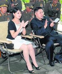 金正恩漂亮女儿遭罗德曼说漏嘴 各国领导人漂亮千金