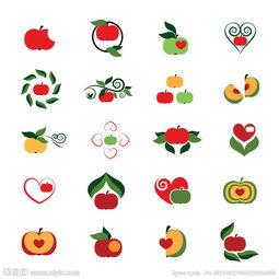 苹果的联想图形创意-苹果图标图片