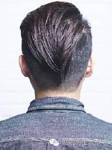 两边剃短的背头发型打理教程