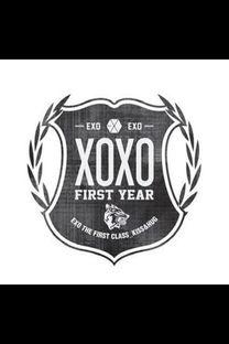 ...xo logo高清大图 黑白双色的