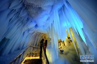 万般皆幻-位于山西省宁武县的   万年冰洞   形成于新生代第四纪冰川期,距今已...