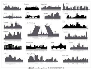东京城市矢量图