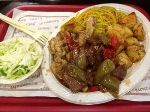 """面对学生说饭堂是因为近期猪肉、菜涨价才推出这一""""取巧""""的新菜,..."""