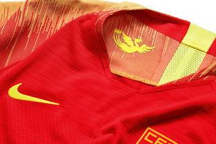 中国之队全新足球系列服装彰显壮志雄心