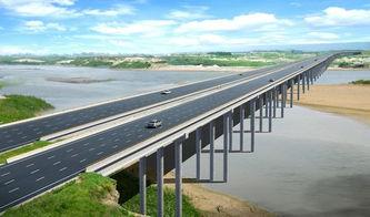 渭北大横线渭河大桥平面效果图-欢迎您访问