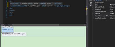 timer1.Interval=1000;主要是设置timer2_Tick事件的时间,单位为毫秒 ...