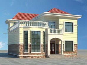 ...10.6米农村二层别墅设计图