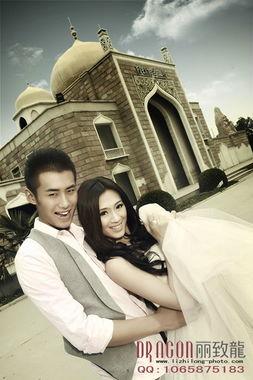 幸福的界限 爱情的边缘 丽致龙婚纱摄影
