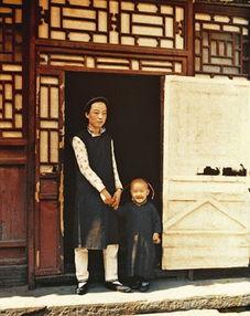 彩色照片记录100年前的中国