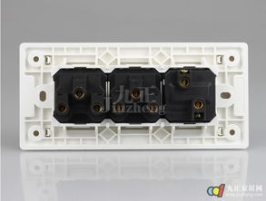飞雕开关插座正品 墙壁开关面板 新品A3 118系列 一开双