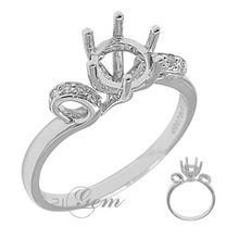 全球在线珠宝机构 21gem -18k钻石群镶女戒