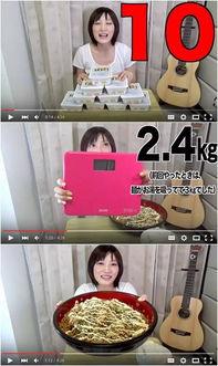 ...38样麦当劳的日本萌妹子体重不过百 怎么做到的