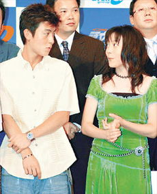 资料图片:陈冠希在《头文字D》的发布会上狂