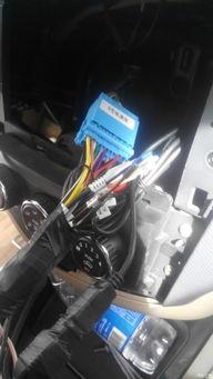 五菱宏光加装导航行车记录仪