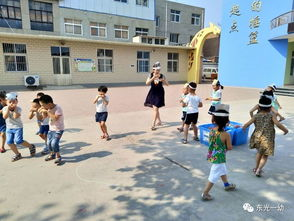 创意游戏,玩转童年 东光一幼中班体育游戏展评活动