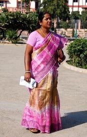 印度美女为何从不坦露大腿