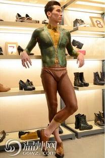 ...一鞋企开启全国人体彩绘秀巡展