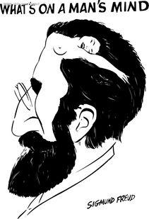 杰克漫画 西格蒙德 弗洛伊德图片
