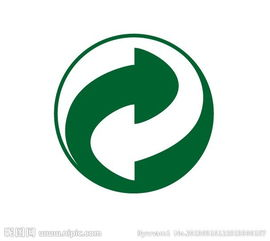 可循环标识图片